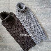 Одежда для питомцев ручной работы. Ярмарка Мастеров - ручная работа Попона- свитер для собак. Handmade.