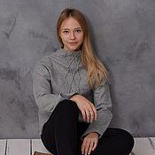 Одежда handmade. Livemaster - original item Sweater felted Ireland. Handmade.