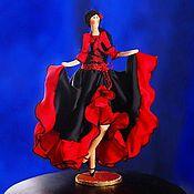 Куклы и игрушки ручной работы. Ярмарка Мастеров - ручная работа Танцовщица фламенко. Handmade.
