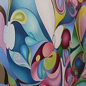 """Картины и панно ручной работы. Ярмарка Мастеров - ручная работа картина маслом 60х90 """"Весна!"""". Handmade."""