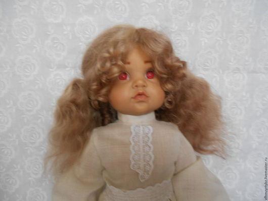 Одежда для кукол ручной работы. Ярмарка Мастеров - ручная работа. Купить парик для куклы. Handmade. Парик, ручной работы