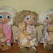 Куклы и игрушки ручной работы. Ярмарка Мастеров - ручная работа Домовенок. Handmade.