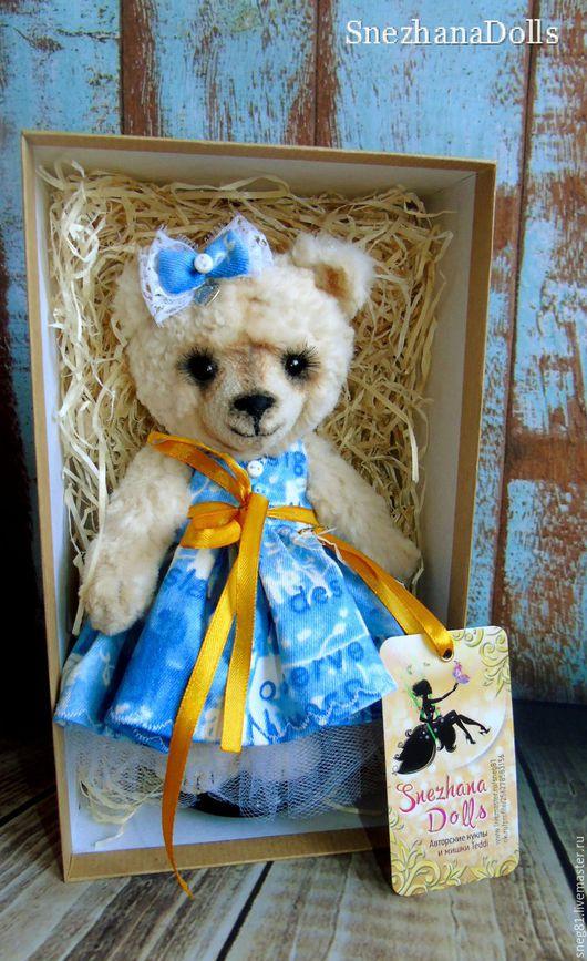 Мишки Тедди ручной работы. Ярмарка Мастеров - ручная работа. Купить Teddy Girl. Handmade. Тедди, интерьерная игрушка, медальон