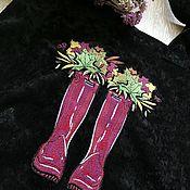 Сумки и аксессуары handmade. Livemaster - original item Shopper bag: corduroy shopper with