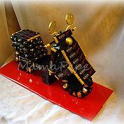 Подарки к праздникам ручной работы. Ярмарка Мастеров - ручная работа Мотороллер из конфет. Handmade.