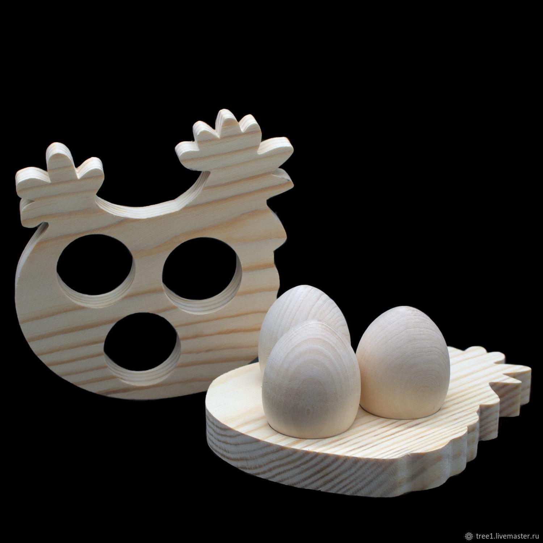 Курочка - подставка под яйца, Декор для декупажа и росписи, Видное,  Фото №1