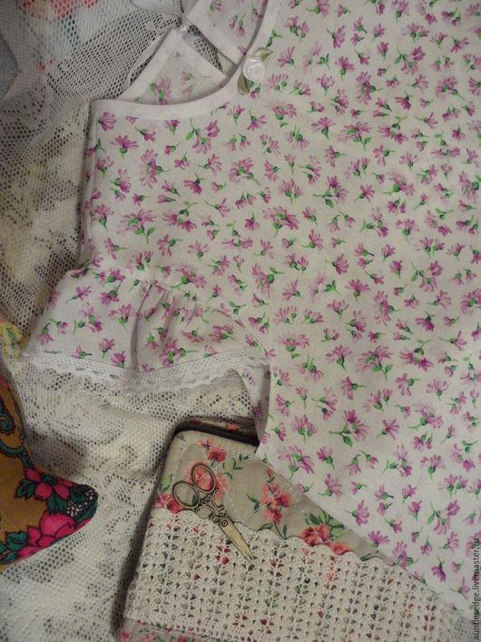 Одежда для девочек, ручной работы. Ярмарка Мастеров - ручная работа. Купить Ночная сорочка для девочки Золушка. Handmade. Сиреневый