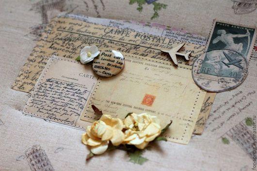 Персональные подарки ручной работы. Ярмарка Мастеров - ручная работа. Купить Альбом для почтовых открыток. Handmade. Почта, альбом