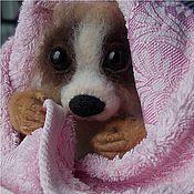 Куклы и игрушки ручной работы. Ярмарка Мастеров - ручная работа Маленький лемурчик Лори:). Handmade.