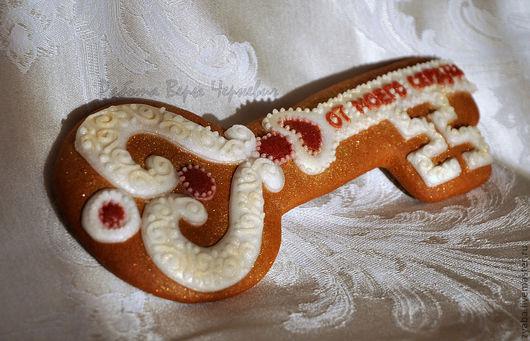 Кулинарные сувениры ручной работы. Ярмарка Мастеров - ручная работа. Купить Пряник Ключ от моего сердца - оригинальный подарок любимому. Handmade.