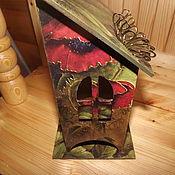 Для дома и интерьера ручной работы. Ярмарка Мастеров - ручная работа Чайный домик Маки. Handmade.