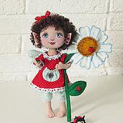 Куклы и игрушки handmade. Livemaster - original item Dolls and dolls: Textile doll Summer Fairy. Handmade.