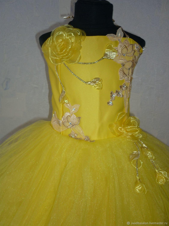 Солнечное платье для девочки 5-7 лет