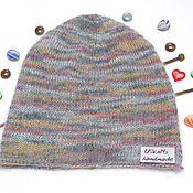 Аксессуары handmade. Livemaster - original item Knitted women`s cap-Bini (sock) from mohair. Handmade.