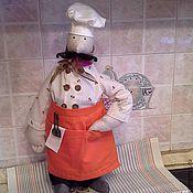 Куклы и игрушки handmade. Livemaster - original item Chef Alfred. Handmade.