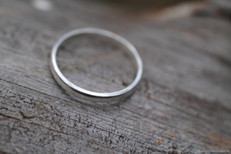 Кольца ручной работы. Ярмарка Мастеров - ручная работа. Купить 16.4 просто е Кольцо серебро. Handmade. Кольцо