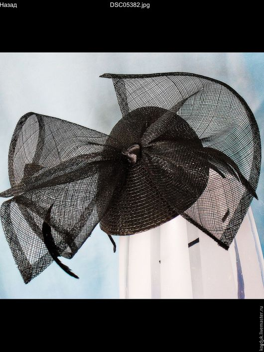Шляпы ручной работы. Ярмарка Мастеров - ручная работа. Купить Вечерняя шляпка. Handmade. Вечерняя шляпка, вуалетка, шляпка для девочки