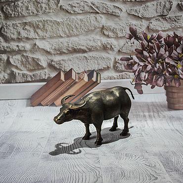 Для дома и интерьера ручной работы. Ярмарка Мастеров - ручная работа Статуэтка «Буйвол». Handmade.