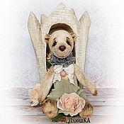Мишки Тедди ручной работы. Ярмарка Мастеров - ручная работа Мишка тедди Макарун - принц сладкого королевства. Handmade.