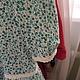 Одежда для девочек, ручной работы. Заказать Платье из марлевки. Лилия Хайновская. Ярмарка Мастеров. Хлопок 100%