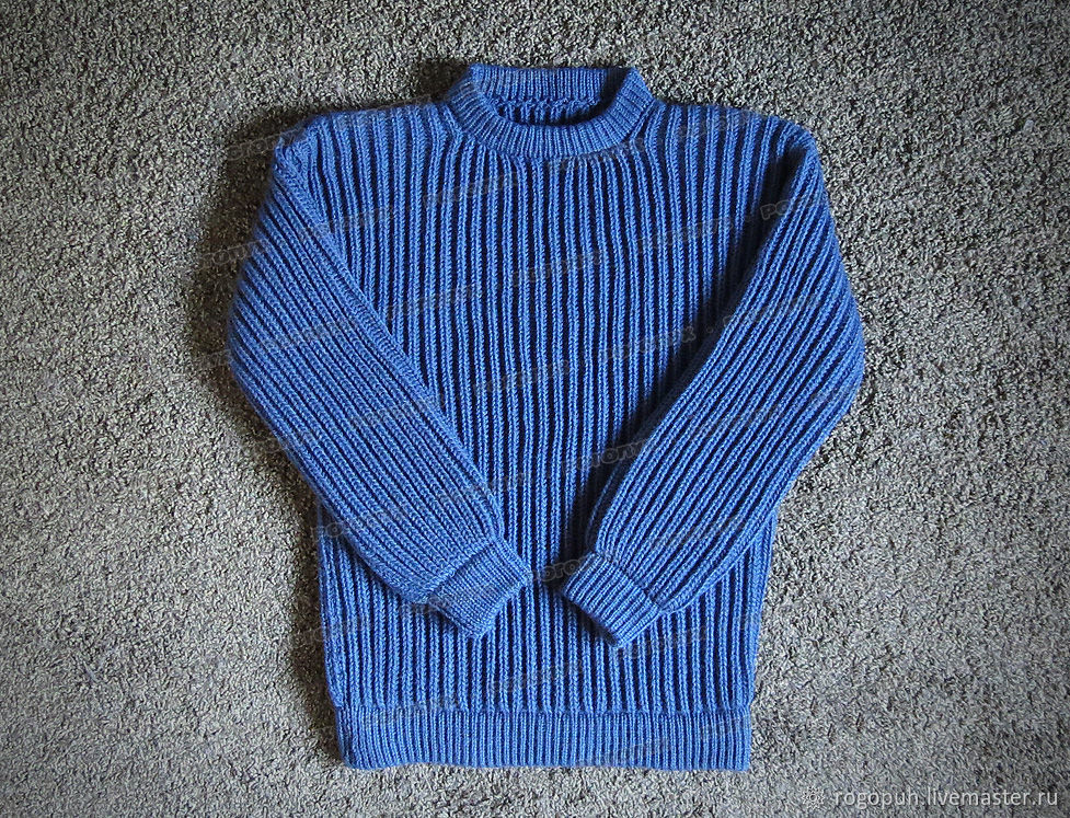 Knitted sweater made of acrylic (No. №611), Mens sweaters, Nalchik,  Фото №1
