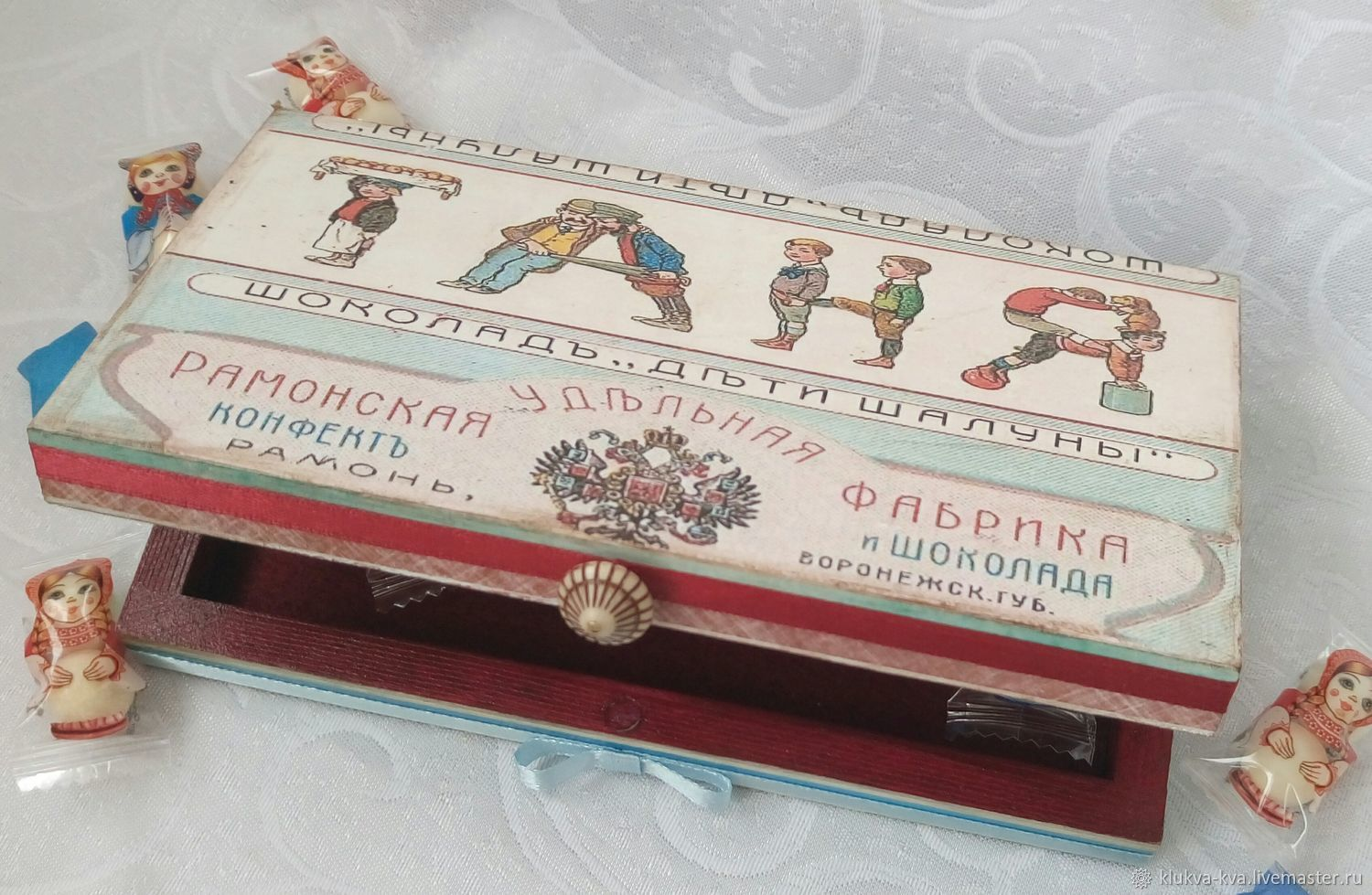 Personalized casket 'Children tent'), Box, Moscow,  Фото №1