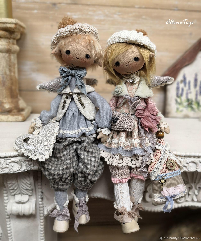 Elves. Textile doll. Boho style, Dolls, Kazan,  Фото №1