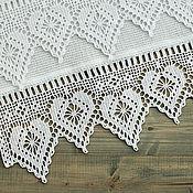 Полотенца ручной работы. Ярмарка Мастеров - ручная работа Кухонное полотенце вафельное полотенце для кухни купить белый. Handmade.