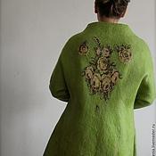 Одежда ручной работы. Ярмарка Мастеров - ручная работа Пальто  ручной работы. Свободный стиль.. Handmade.