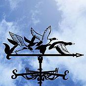Дача и сад handmade. Livemaster - original item Weather vane on the roof of the