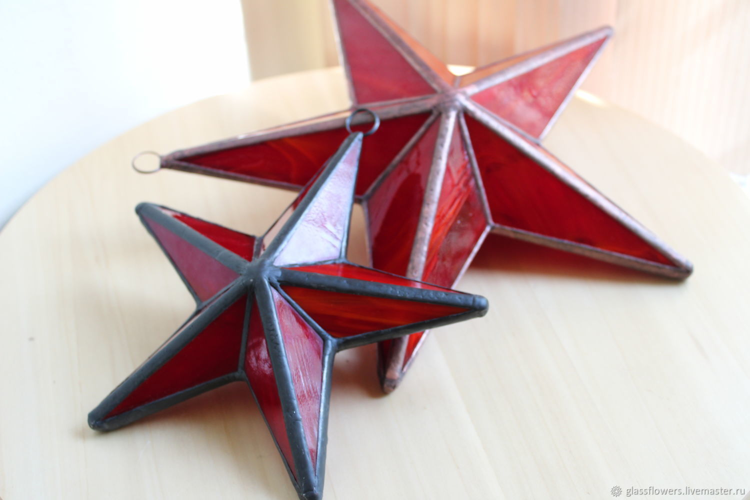 Stained glass stars, Suspension, St. Petersburg,  Фото №1