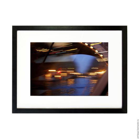 Фотокартины ручной работы. Ярмарка Мастеров - ручная работа. Купить Фотокартина в раме для интерьера. Ночной Амстердам 6. Handmade. амстердам