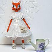 Куклы и игрушки handmade. Livemaster - original item Boho style Fox toy. Handmade.