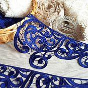 Материалы для творчества ручной работы. Ярмарка Мастеров - ручная работа Кружево макраме М84 кружево плетеное, кружево для отделки. Handmade.