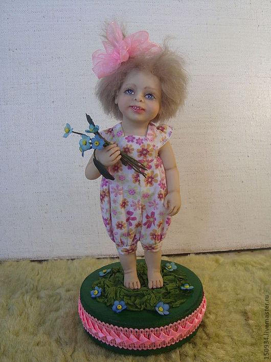 Коллекционные куклы ручной работы. Ярмарка Мастеров - ручная работа. Купить кукла Лиза. Handmade. Розовый, подарок на любой случай