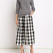 Одежда ручной работы. Ярмарка Мастеров - ручная работа Теплая нарядная юбка на каждый день. Handmade.