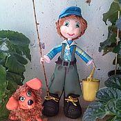 Куклы и игрушки ручной работы. Ярмарка Мастеров - ручная работа На рыбалку. Handmade.