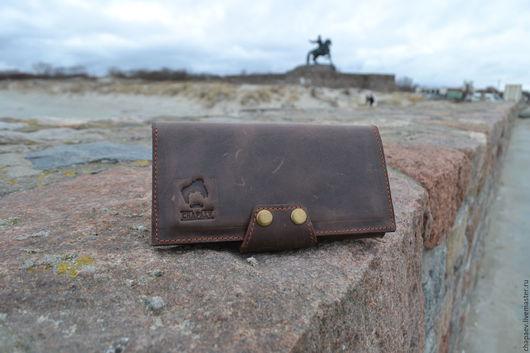 Портмоне шоколадное  `Travel`