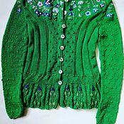 Одежда handmade. Livemaster - original item Jacket with handmade embroidery. Handmade.