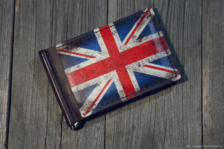 Money clip ' British flag', Clamps, Murmansk,  Фото №1
