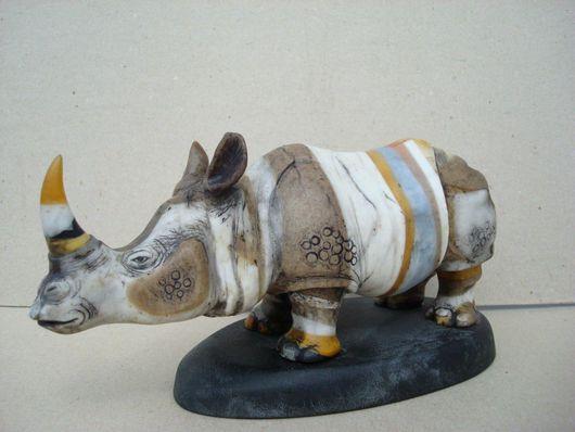 Подарки для мужчин, ручной работы. Ярмарка Мастеров - ручная работа. Купить Носорог. Handmade.