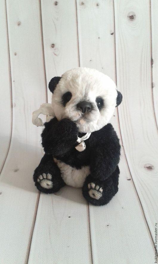 Мишки Тедди ручной работы. Ярмарка Мастеров - ручная работа. Купить Панда Мей. Продана. Handmade. Чёрно-белый, panda