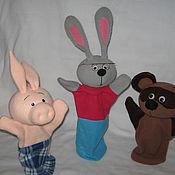 Куклы и игрушки ручной работы. Ярмарка Мастеров - ручная работа Игрушки  для кукольного театра. Handmade.