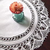 Винтаж handmade. Livemaster - original item Your booking Napkin combo, cotton, crochet, vintage. Handmade.