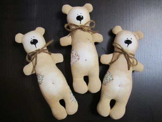 Куклы Тильды ручной работы. Ярмарка Мастеров - ручная работа. Купить Кофейные мишки. Handmade. Мишка, текстильная кукла, шоколад