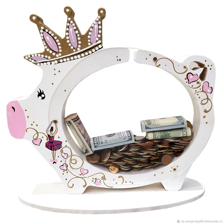 Копилка-Свинка с Балериной на 500 монет!, Копилки, Минск, Фото №1