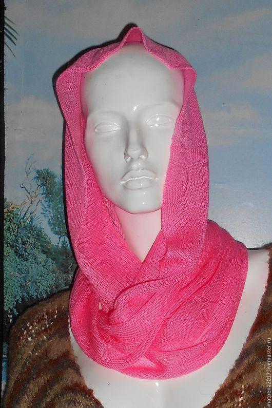 Шали, палантины ручной работы. Ярмарка Мастеров - ручная работа. Купить Снуд розовый. Handmade. Купить снуд, снуд купить