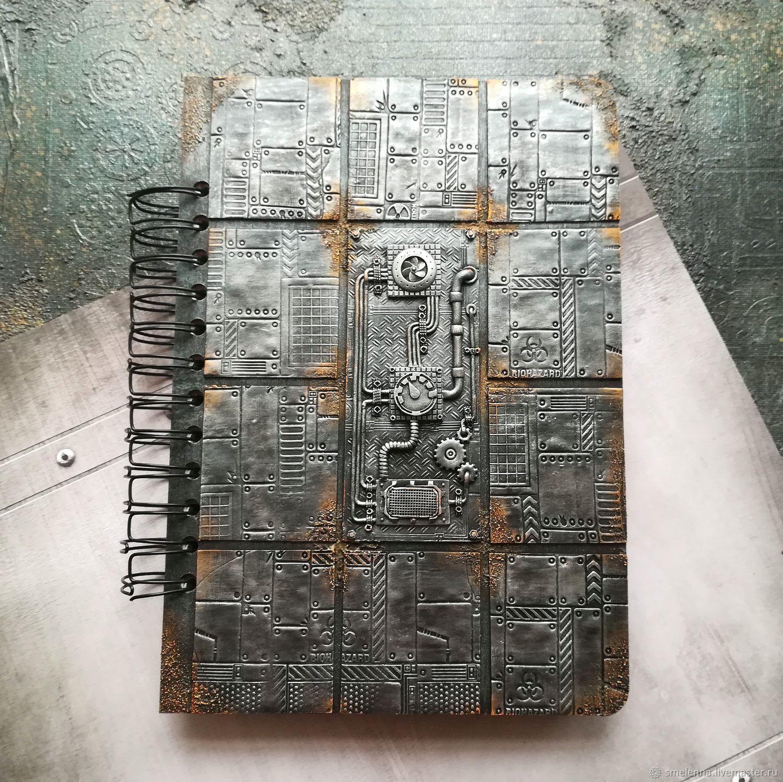 "Стимпанк блокнот ""Metal"", Блокноты, Люберцы,  Фото №1"