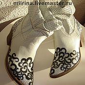 Обувь ручной работы. Ярмарка Мастеров - ручная работа сияние гипюра. Handmade.