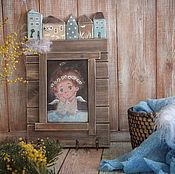Для дома и интерьера handmade. Livemaster - original item The housekeeper eyed Tenderness. The housekeeper decoupage. Handmade.